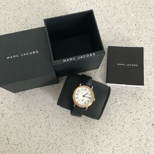 Marc Jacobs black Riley watch mj1514
